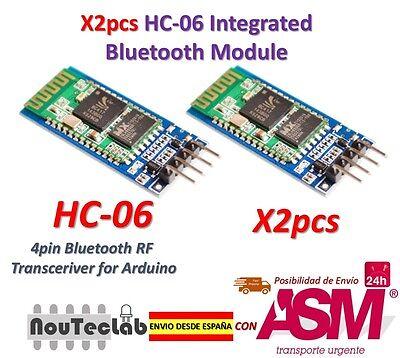 2pz HC-06 Modulo Senza fili Arduino HC06 Bluetooth con base Schiavo per Arduino