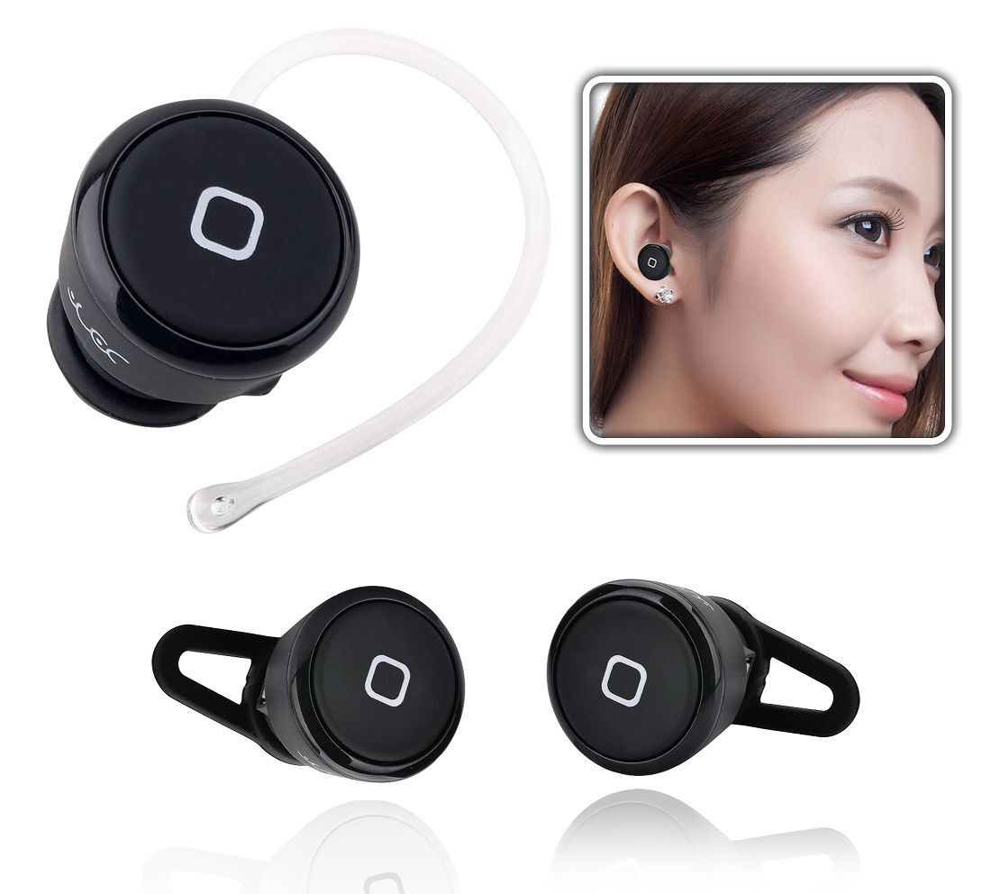 bluetooth hands free headset earpiece for iphone samsung. Black Bedroom Furniture Sets. Home Design Ideas