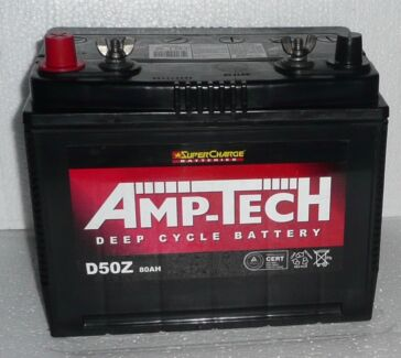 BATTERY 12 VOLT - 80AH DEEP CYCLE - 2016