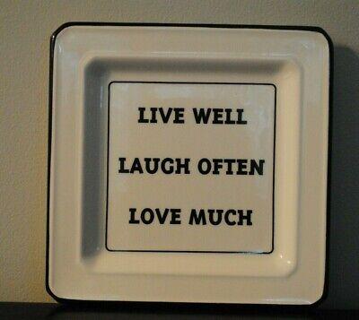 Live Laugh Love Italian (Ceramic Italian Made Sign