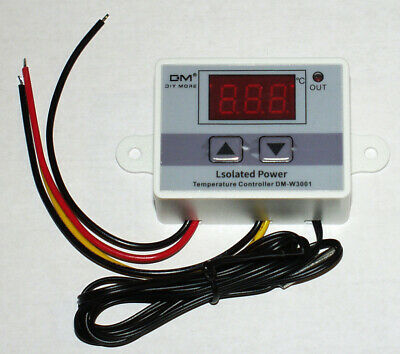 120v Isolated Dm-w3001 Temperature Controller Thermostat