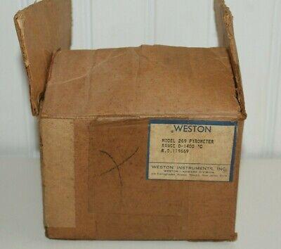 G Vintage Pyro Pyrometer Weston Model 269 Pyrometer Nos