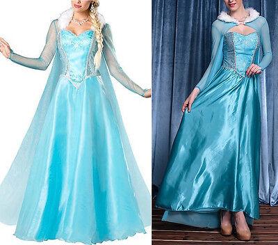 Frozen - Vestito Carnevale Donna Elsa Dress up Woman Elsa Costumes (Elsa Dress Up Kostüm)