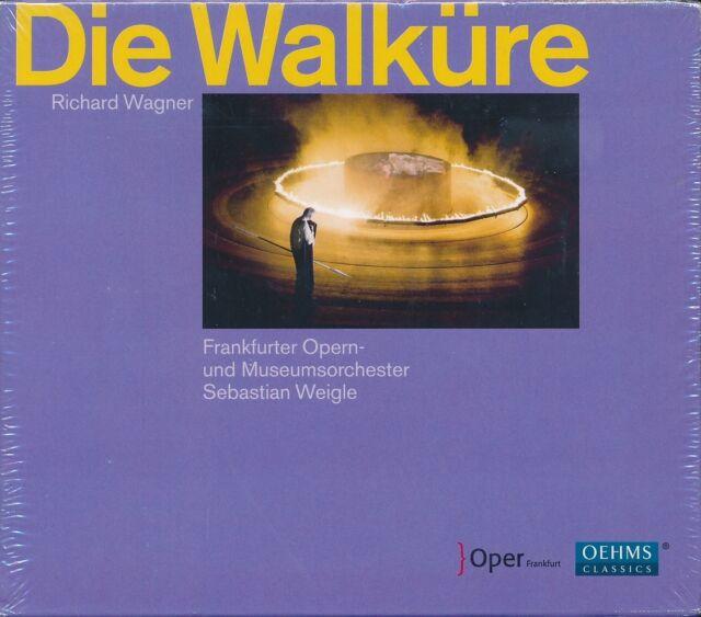 Wagner Die Walkure CD NEW Frankfurter Opern Frankfurt Opera Sebastian Weigle