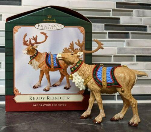 Hallmark 2001 Ready Reindeer for Santa