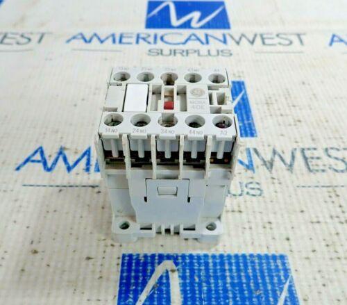 GENERAL ELECTRIC MCRA040AT RELAY 120V