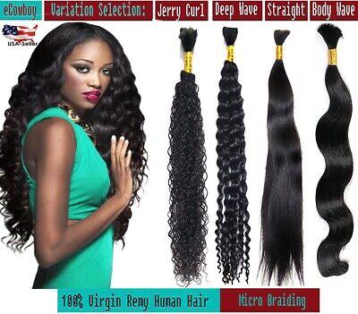 Human Hair Micro Braiding Best Quality Bulk Hair REMY Virgin