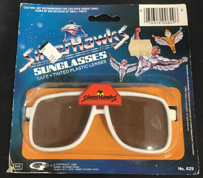 GORDY INTERNATIONAL 1986 VINTAGE SILVER HAWKS (Hawkings Sunglasses)