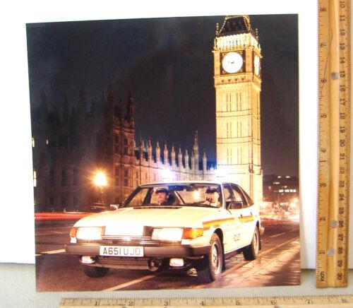 POLICE CAR A651UJD~BIG BEN LONDON~8 X 8 COLOR PHOTO