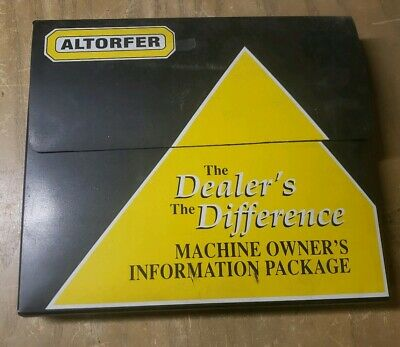 Altorfer Caterpillar Machine Owners Information Package 1r-1309-y20