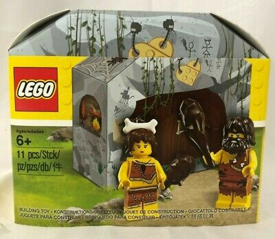 LEGO 5004936 Caveman and Woman Set - NEW Sealed, FREE Shipping