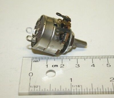 Vintage Nos 1976 Cts 3.5 Meg Ohm Linear Taper Potentiometer W Spst Switch