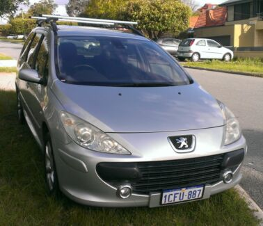 2006 Peugeot 307 XSE HDi 2.0 Touring MY06 Upgrade 6 spd Manual Bayswater Bayswater Area Preview