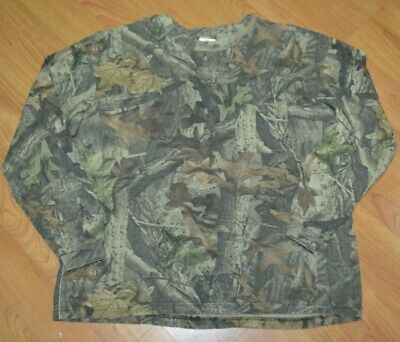 Advantage Timber Camouflage Long Sleeve Pocket T Shirt XL 2XL Hunting Outdoors