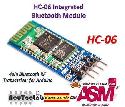 HC-06 Modulo Senza fili Arduino HC06 Bluetooth con base Schiavo per Arduino