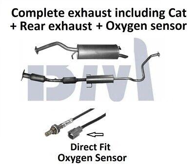 Toyota Prius 1.5 Catalytic Converter Lambda Sensor Fit Kit BM91617H 03/>09