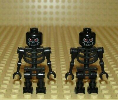 Black Lego Skeleton (Lego LOT BLACK SKELETON WARRIOR minifigure CASTLE)