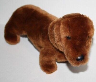 Wiener Dog Stuffed Animal (Douglas Realistic DACHSHUND DOG WEENIE 13