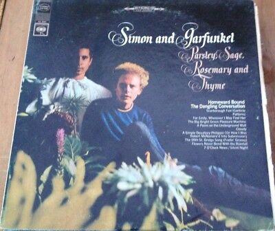Simon & Garfunkel, Parsley, Sage, Rosemary & Thyme stereo vinyl LP, 1966