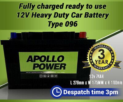 053 Car Battery fits many Daewoo Honda Hyundai Kia Mazda Nissan Toyota 45Ah