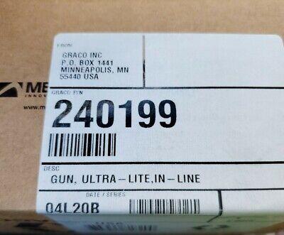Graco 240199k16b In-line Ultra-lite Flow Gun Usip