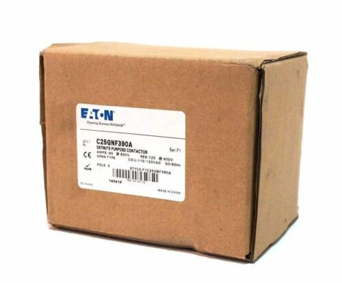 NEW EATON CORPORATION  C25GNF390A CONTACTOR SER.F1