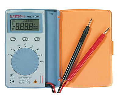 Mastech Ms8216 Autoranging Digital Multimeter With 4000 Counts