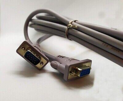 Cable Extensión VGA Macho Hembra 3 Metros Para PC Monitor Pantalla TV