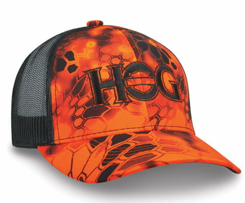 Kryptek Inferno™ Camo Harley Davidson Owners Group HOG  Moisture-Wicking Cap