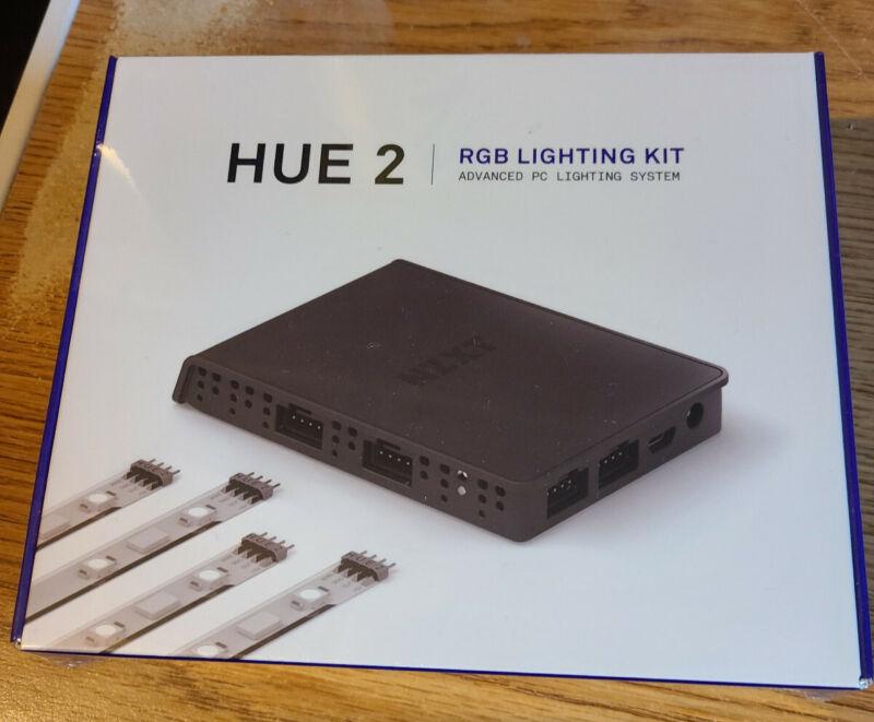NZXT HUE 2 RGB Lighting Kit (AC-HUEP2-M1) - SEALED - NEW - SOLD OUT - RARE