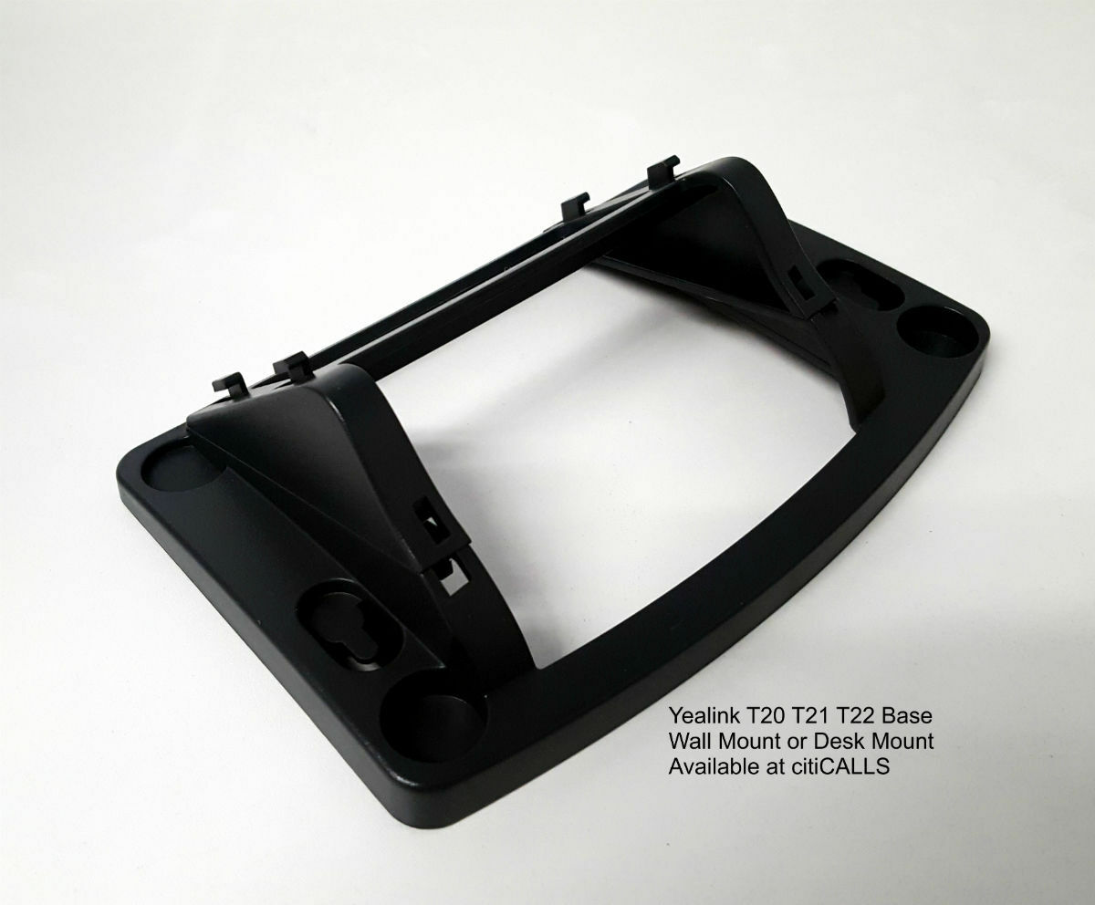 Details about Yealink T23-Base Wall and Desk Mount for IP Phone T21 T21P  T23 T23P T23G
