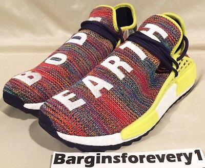 71ca00d910179 Men s Adidas PW HUMAN RACE NMD TR - Size 9.5 - AC7360 - Multi-Color