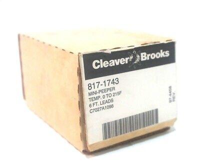New Cleaver Brooks 817-1743 Mini Peeper 8171743