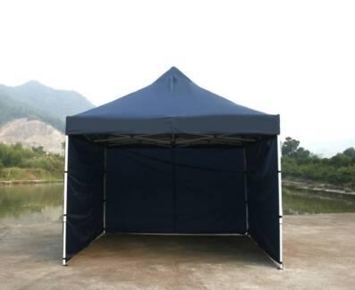 3X3M Pop Up Gazebo Folding Tent Marquee Canopy Shade * Blue