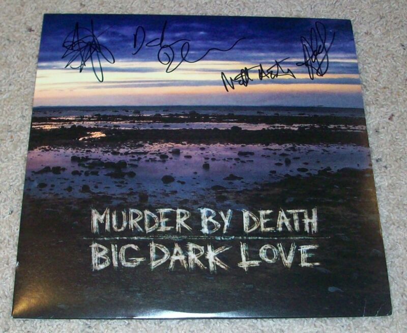 MURDER BY DEATH SIGNED AUTOGRAPH BIG DARK LOVE ALBUM w/EXACT PROOF ADAM TURLA +4