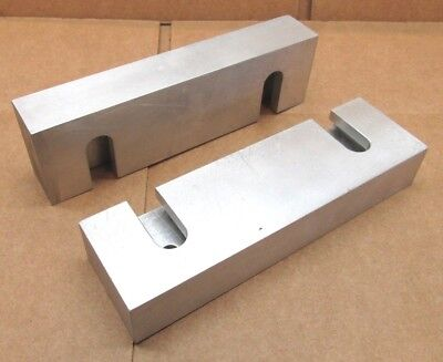 New Pair Of 6 X 1-34 X 1 Quick-change Aluminum Milling Vise Jaws For 6 Kurt