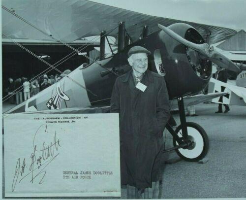 Jimmy Doolittle Autograph Doolittle Raid Medal Of Honor Recipient World War II..