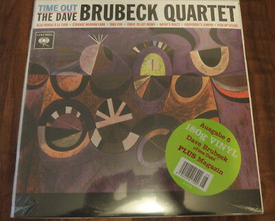 The Dave Brubeck Quartet - Time Out RARE Still Sealed 2015 RI Jazz LP
