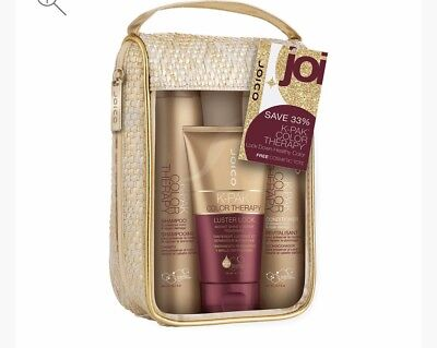 Joico K-pak Color Therapy Shampoo, Conditioner 10.1 oz & Luster Lock 4.7 oz -NEW