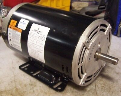 New Emerson 3 Hp Air Compressor Pump Motor 200-240480 Vac 34502850 Rpm