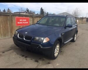2004 BMW X3 2.5is ** NEED GONE **