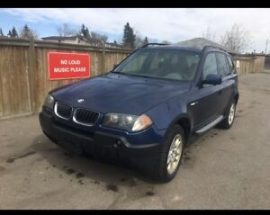 2004 BMW X3 2.5is NEED GONE ASAP