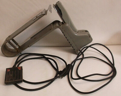 Rare Vintage Swingline Model15e-4 Electric Booklet Saddle Stapler Wfoot Pedal