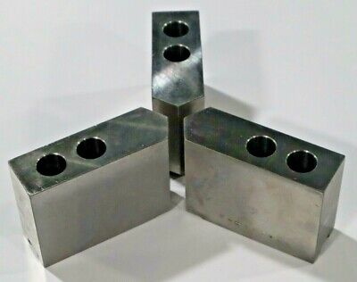 Steel Soft Chuck Jaws W Pointed End For 10 Chuck  C486