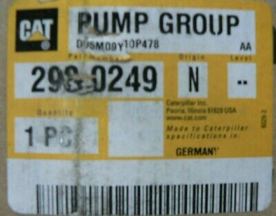 Genuine Caterpillar D6k Pump Group Fuel Transfer 426-4806 293-0249