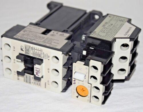 Fuji Electric FA Contactor SC-E02 with TK-E02 Aux Contactor