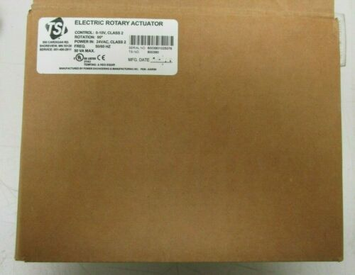 TSI 80030 Electric Rotary Actuator  NEW-open box