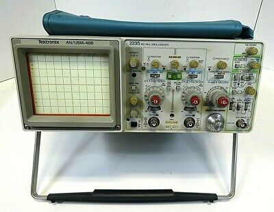 Tektronix 2235 Oscilloscope - 100mhz Dual Channel - As Is - Free Shipping