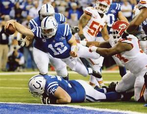 Indianapolis Colts Andrew Luck Unsigned 8x10 Photo
