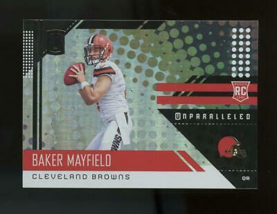 2018 Panini Unparalleled #208 Baker Mayfield RC Rookie